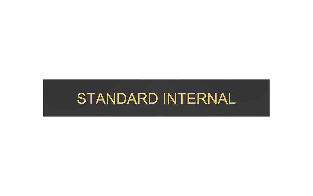 Standard Internal Header